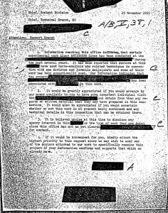 Indian Lake Project MKULTRA