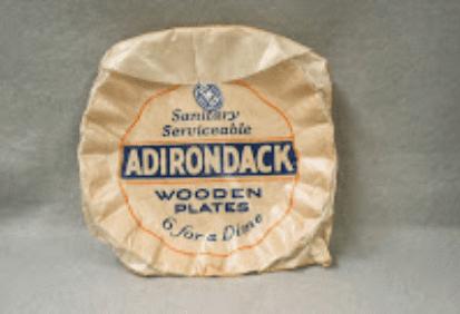 adirondack wooden plates