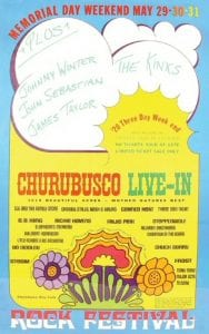 1970 Churubusco Live-In poster