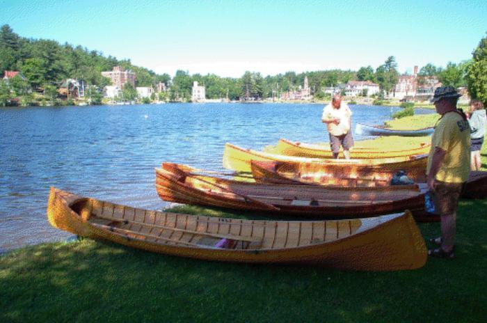 50th Willard Hanmer Guideboat Race Largest Gathering Of