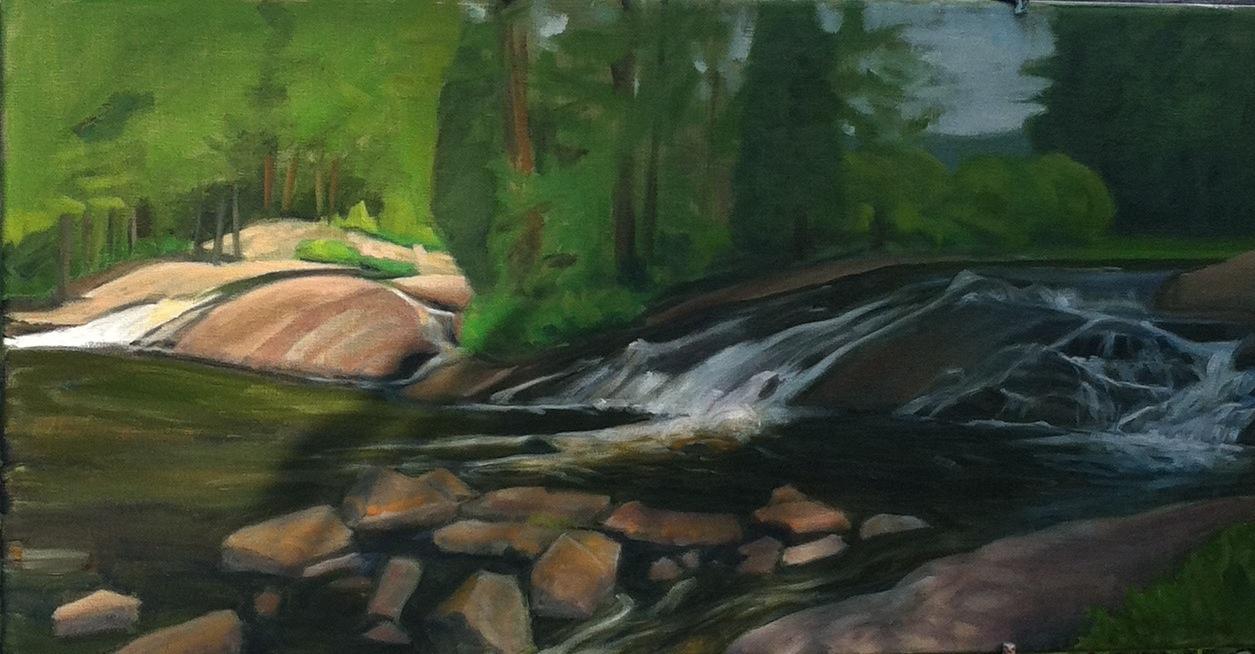 Sandra Hildreth, Plein Air Painting