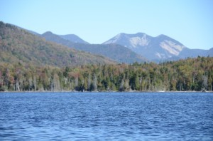 Paddling on Boreas Ponds as guest of The Nature Conservancy