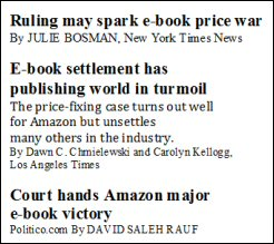 Headlines e-book ruling