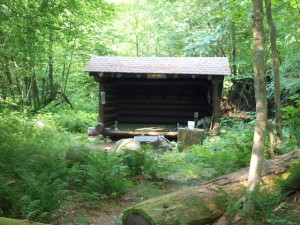 Wolf Pond lean-to