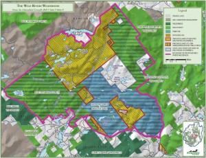 Adirondack Council proposal for Wild Rivers Wilderness