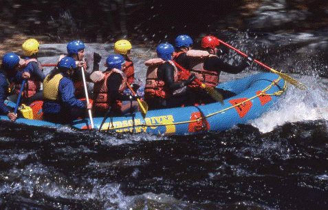 Rafting would be part of the North Creek to Indian Lake hut-to-hut route