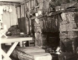 Fireplace of Main Camp