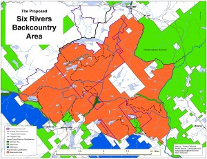 Six Rivers Overview Map (Bill Ingersoll Proposal)