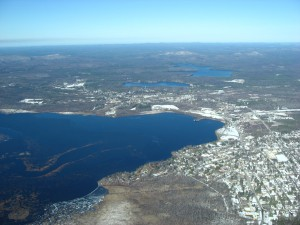 Over Tupper Lake
