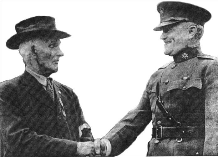 Lonsway with Pershing