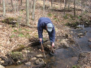 Michael Klemens sampling for amphibians