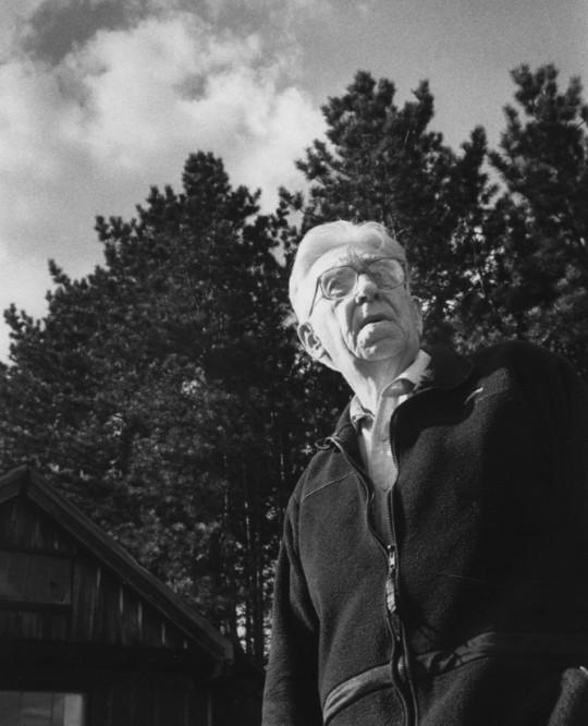 Paul Schaefer at Beaver House, 1990