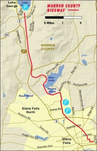 warren county bike path map