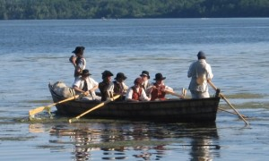 1775 lake champlain battoe