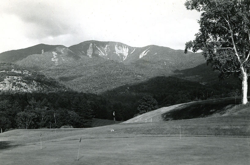 Giant from Ausable Club Golf Course in 1963