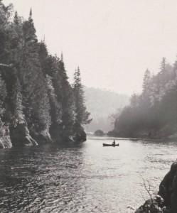 Upper Hudson River by Paul Schaefer, c. 1968