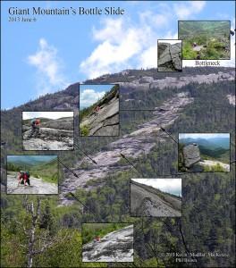Giant Mountain Bottle Slide Mosaic