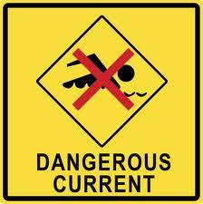 Swimming Dangerous Current