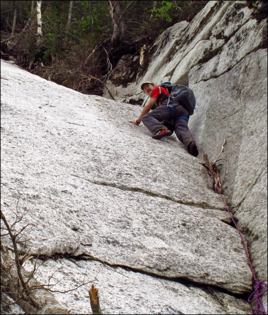 Upper Dihedral of the Buttress Slide