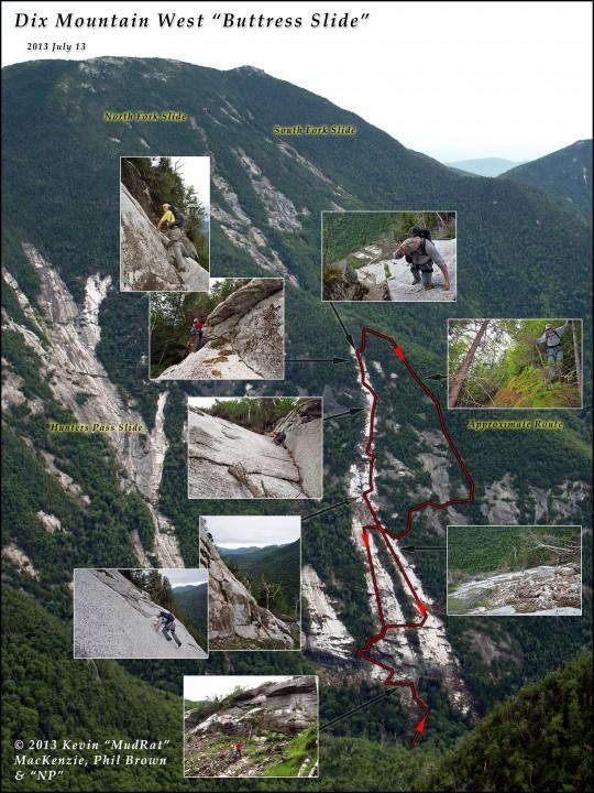 Dix Mountain Buttress Slide