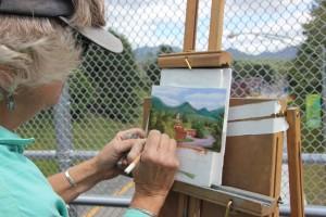 Diane Leifheit Paints the Town