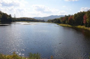 looking south from Goodnow Flow