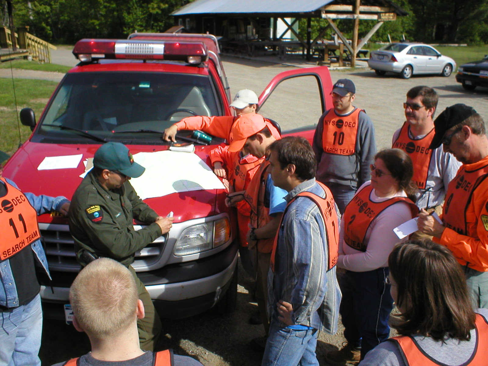 Forest Rangers lead search and rescue