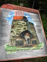 Signage at Blast Furnace