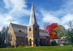 St James Episcopal Church in Lake George
