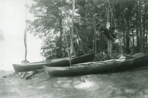 Stoddard, Lake George Canoe Meet (1880)