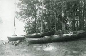 Stoddard, Lake George Canoe Meet (1880)