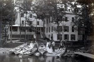 Whitehalls at Lake View, Bolton Landing (Stoddard photo)