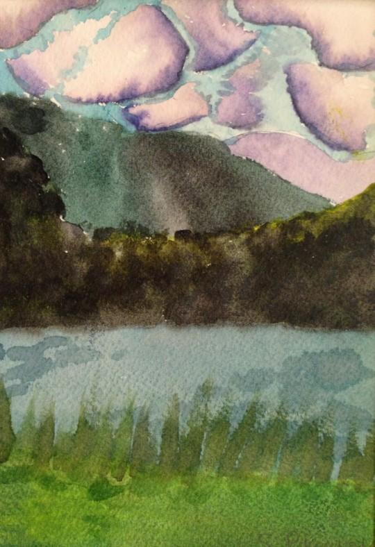 """Breezy Lake Flower"" by Samantha Pahucki"