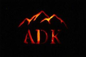 Adirondack Halloween Pumpkin