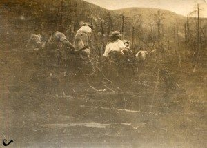 Putnam Camp 1913 Fire Aftermath