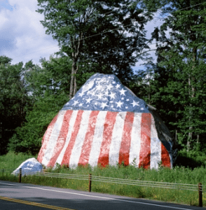 St Lawrence County Flag Rock