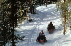 Recreation Highlight: Snowmobiling in the Adirondacks