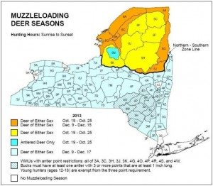 Muzzleloading Season in the adirondacks