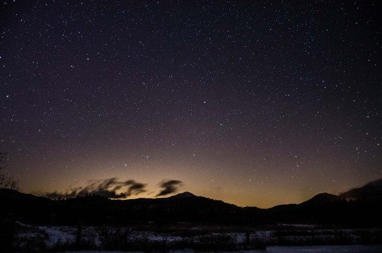 Night Sky over Whiteface