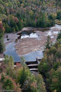 Marcy Dam aerial