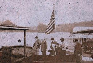 P10 Gen Harrison and party at Old Forge dock175 (2)
