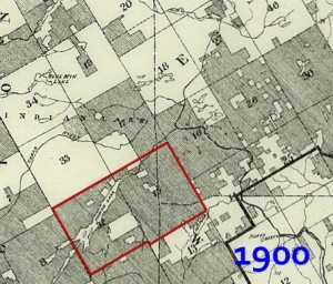 Township 15 Map 1900