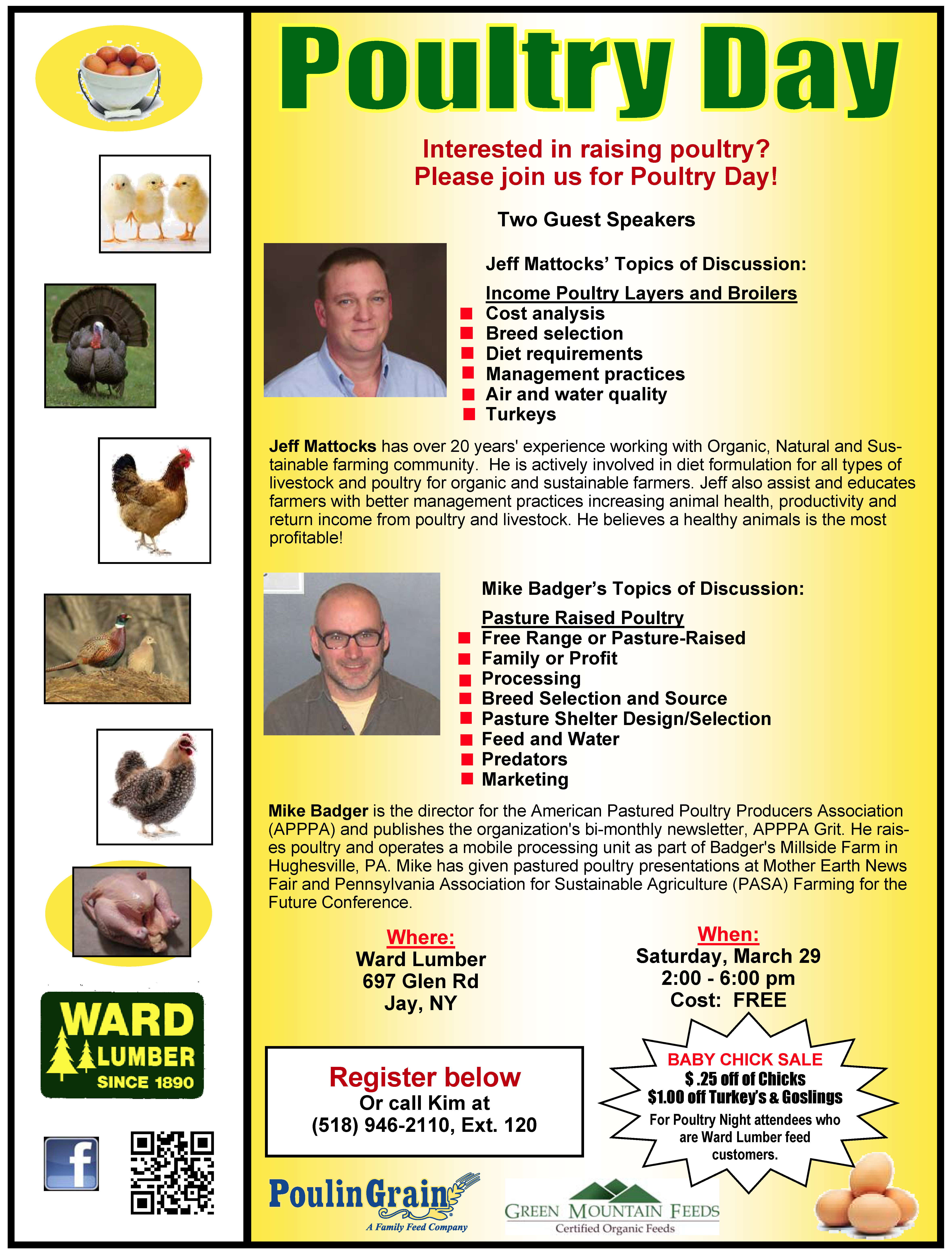 raising local food ward lumber u0027s poultry day the adirondack