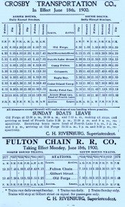 2nd fulton chain railway schedule_0