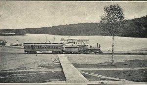 Fulton Chain Railroad Station and Boat Dock, Old Forge