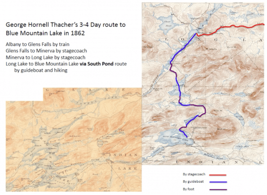 GHT 3-4 Day Route
