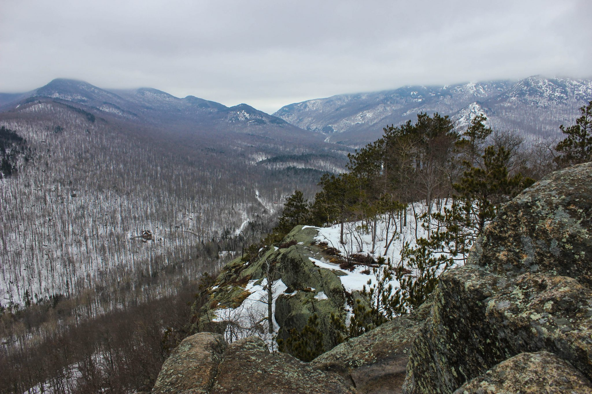 Jessica Tabora: Early Spring View From Owl's Head