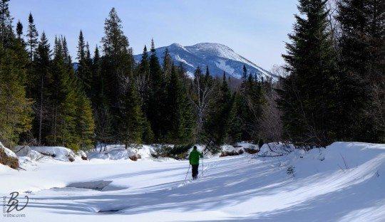 Skiing Marcy Brook