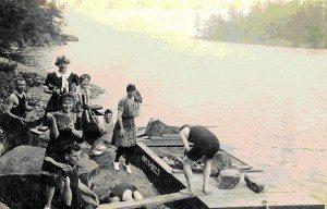 Women on Lake George