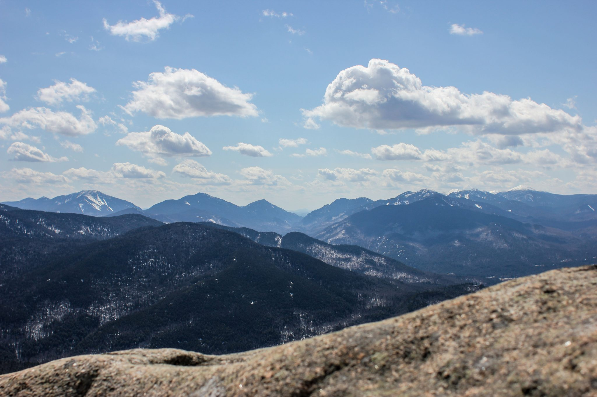 The High Peaks From Hurricane Mountain - - The Adirondack Almanack